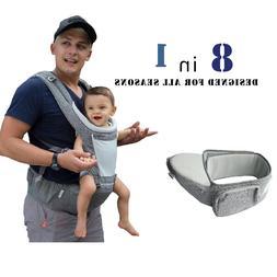 DaDa Hip Seat Baby Carrier, Airflow 360 Ergonomic Baby Carri