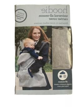 HOODIE Universal All-Season Baby Carrier Cover Gray Sweatshi