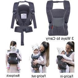 Infant Baby Carrier Backpack Lightweight Ergonomic Summer Tr