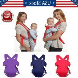 Infant Baby Front Carrier Breathable Ergonomic Adjustable Wr