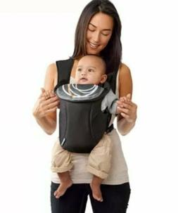 Evenflo Infant Soft Baby Carrier, Creamsicle black