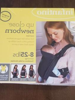 Infantile Up Close Newborn Carrier, 8-25 lbs