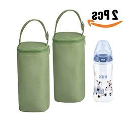 Bellotte Insulated Baby Bottle Bags  - Travel Carrier, Holde