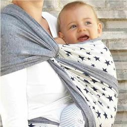 DIDYMOS Jersey Stretchy Wrap Stars Baby Carrier Size 5
