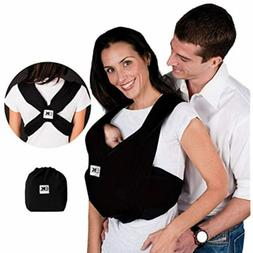 Baby K'tan Baby Carrier, Black - Large