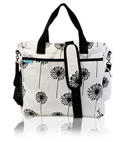 Baby K?tan? Diaper Bag with Built-in Wet Bag Dandelion