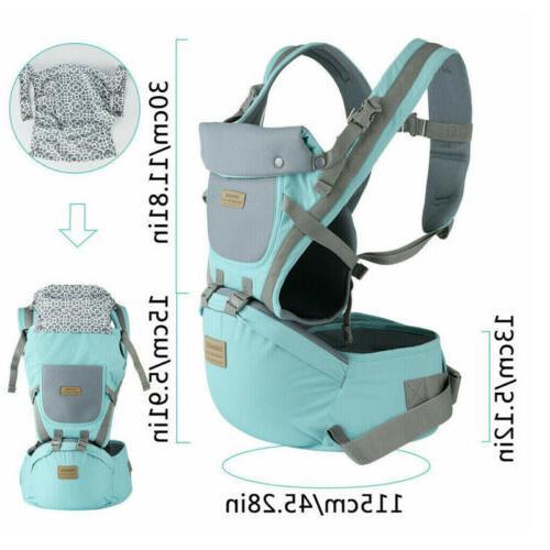 0-36M Ergonomic Infant Baby Hipseat Carrier Front Kangaroo