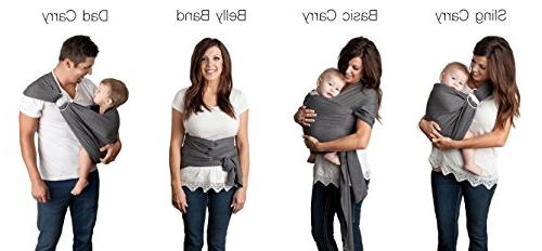 Wrap and Ring Sling by Such | Cotton Use as a Nursing Free Carrying Pouch | Baby Boys or