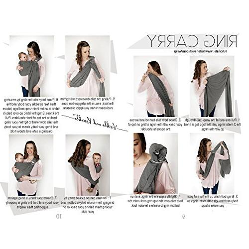 4 1 Wrap Sling by Such Cotton as a Postpartum Belt and Nursing Free Carrying   Baby Shower Boys
