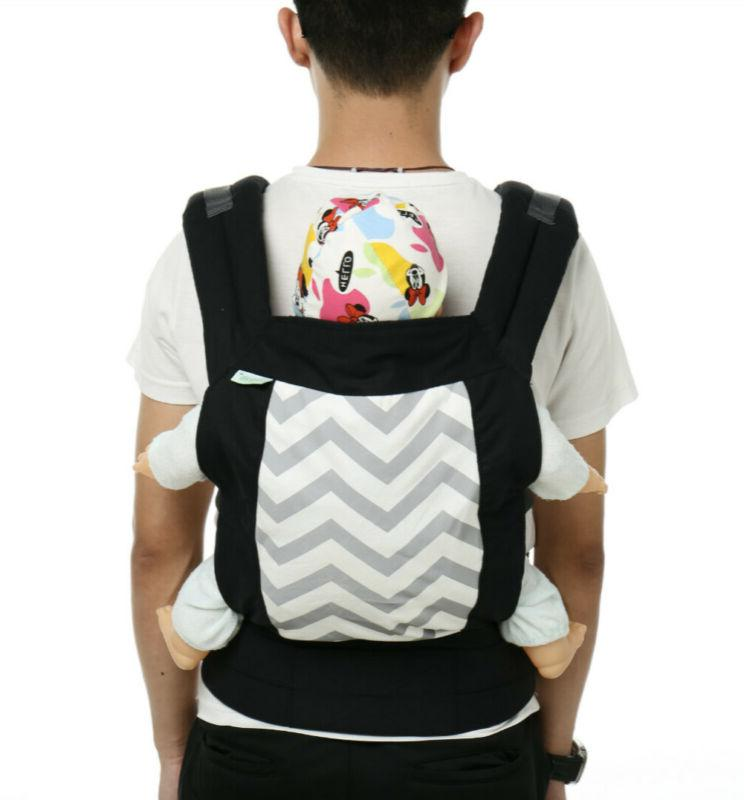 3 Baby Wrap Sling Backpack Flexible New