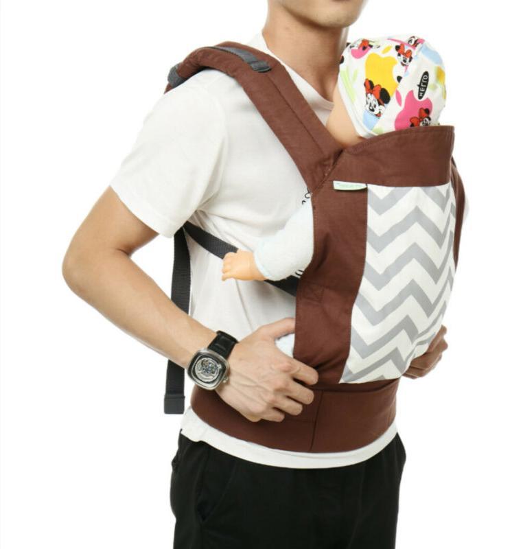 3 Infant Baby Ergonomic Wrap Sling Backpack Flexible New