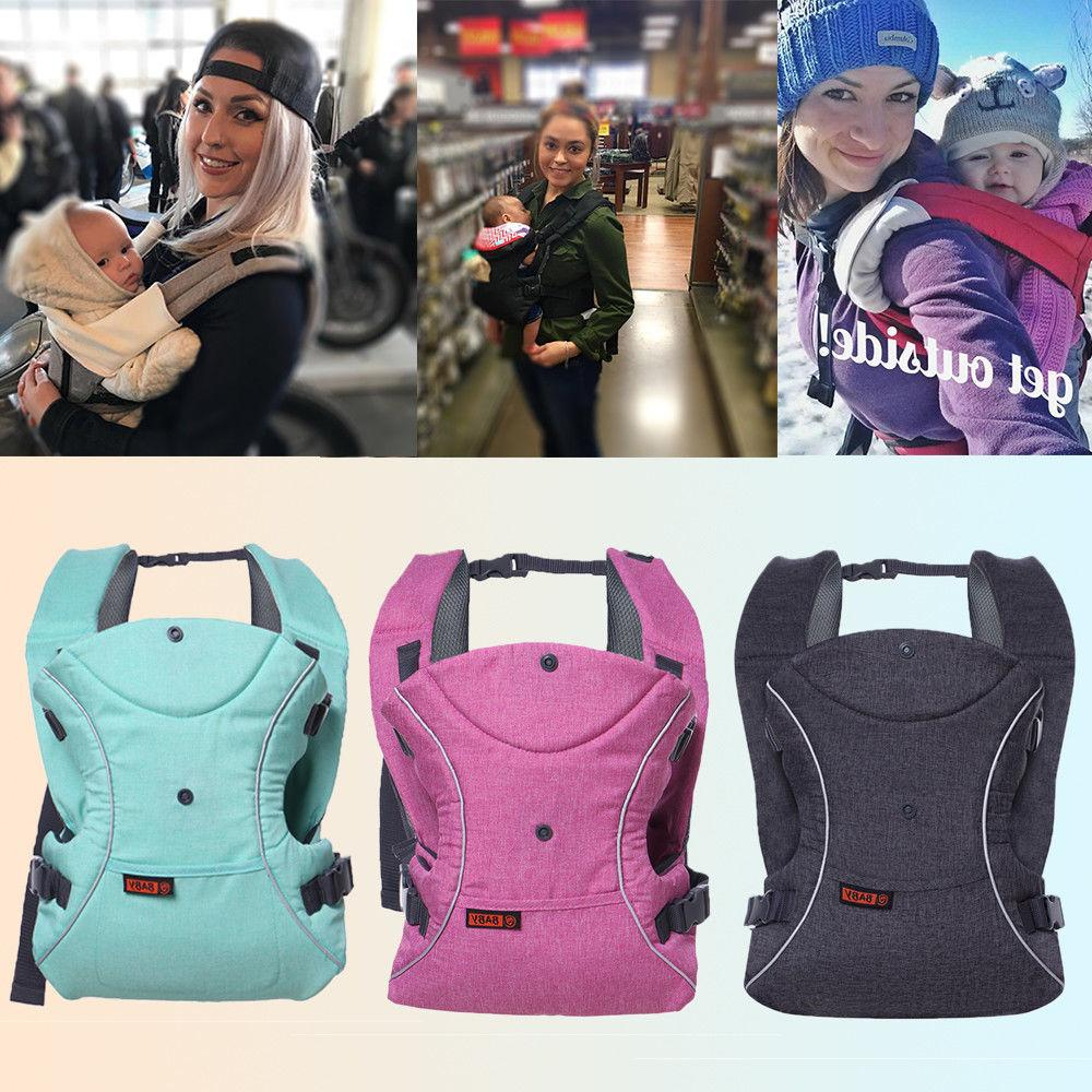 3 In 1 Baby Carrier Ergonomic Wrap Sling Backpack Flexible New