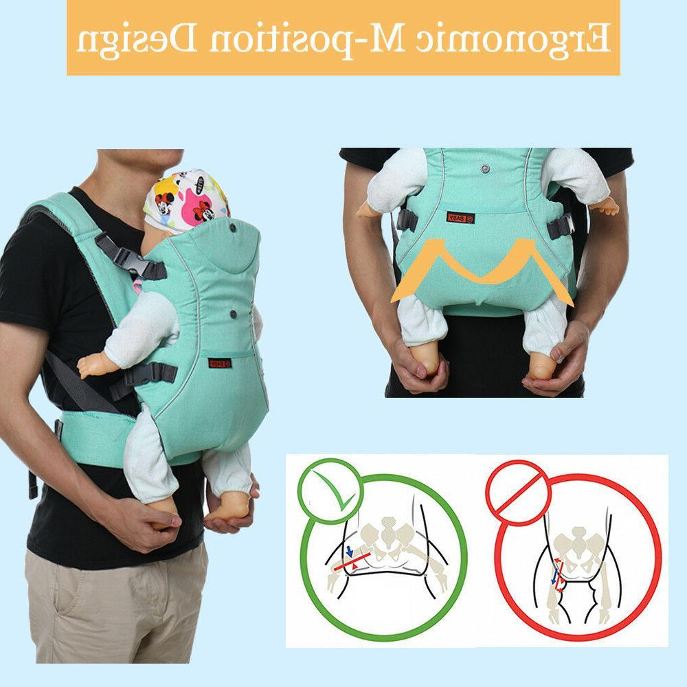 3 Baby Carrier Ergonomic Wrap New
