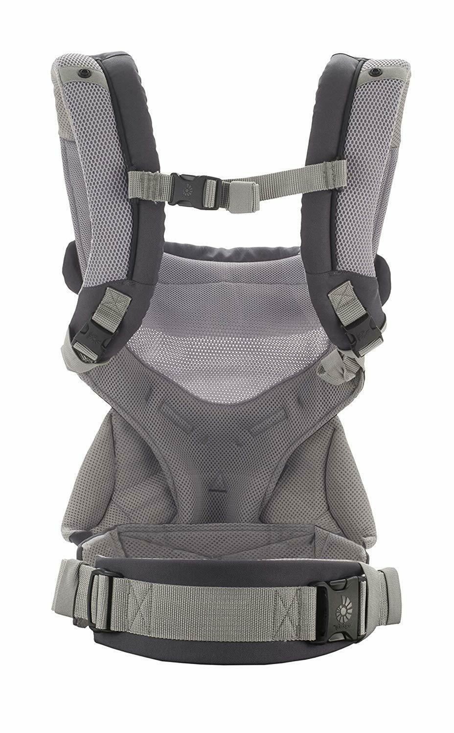 Ergo Baby Four Position 360 Carrier Cool Air - Carbon Grey