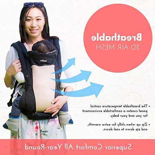 360 Carrier - Sling Easy No Insert Needed, Fits All - to Newborn, Infant & Toddler, Carrier