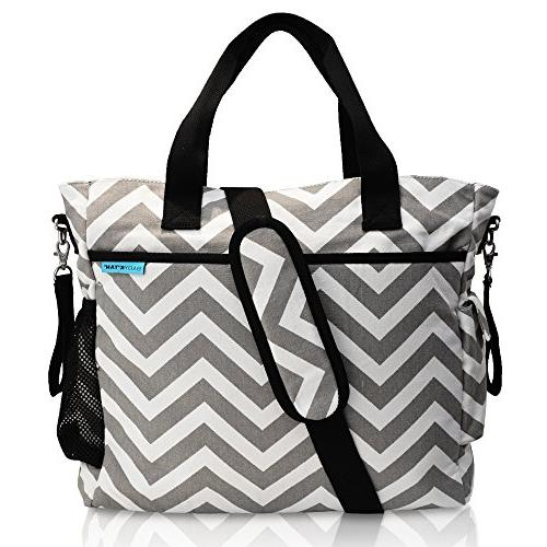Baby K'tan - Original Diaper Bag Tote with Changing Pad, W
