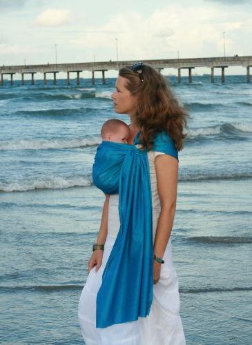 Beachfront Baby Sling – Versatile Water & Warm Weather Adj