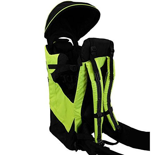 Clevr Baby Toddler Backpack Kid Green