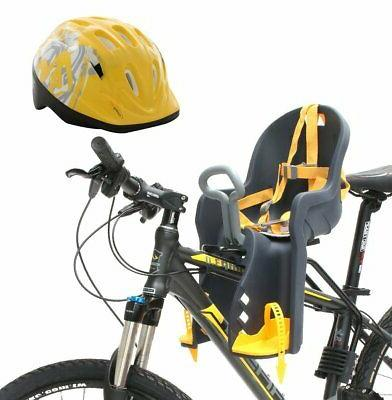 CyclingDeal Bike Front Baby Seat Carrier with Handrail and H