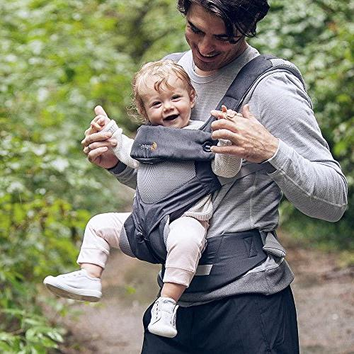 Ergobaby Carrier, 360 Carry Positions Carrier with Air Carbon