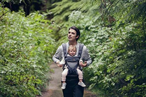Ergobaby Carry Baby Carrier with Air Mesh, Carbon Grey