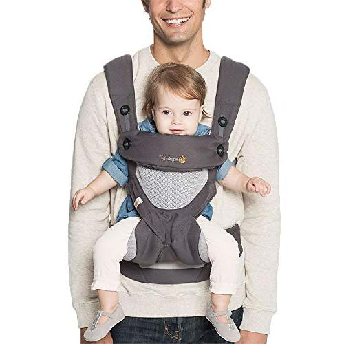 Ergobaby Carry Carrier with Cool Carbon Grey