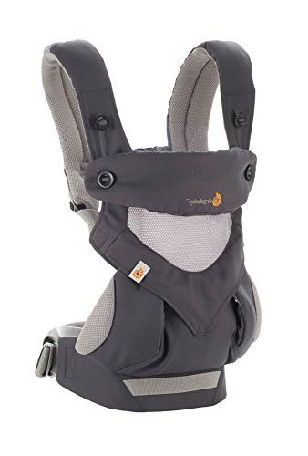 Ergobaby Carrier, 360 Carry Carrier with Carbon