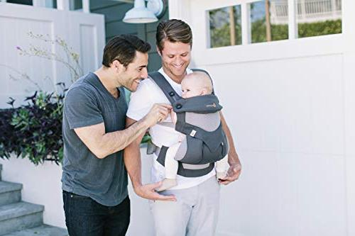 Ergobaby Carrier, All Carry Positions Carrier with Mesh, Carbon Grey