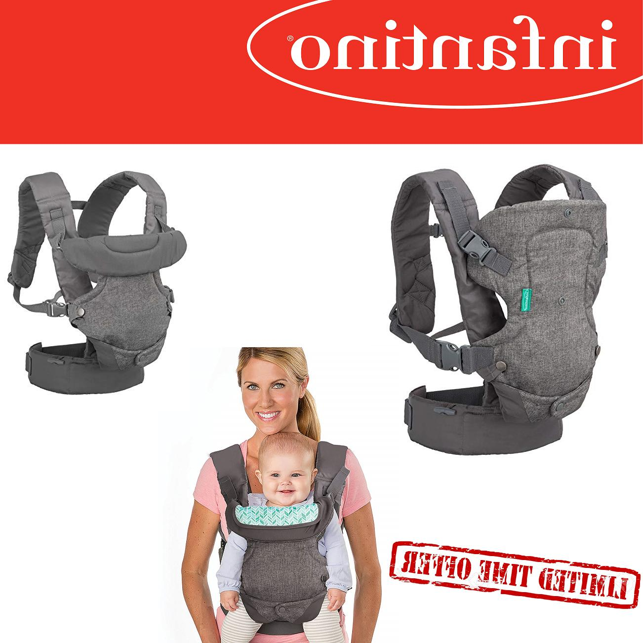 Infantino Flip 4-in-1 Convertible breathable Newborn Baby Ca