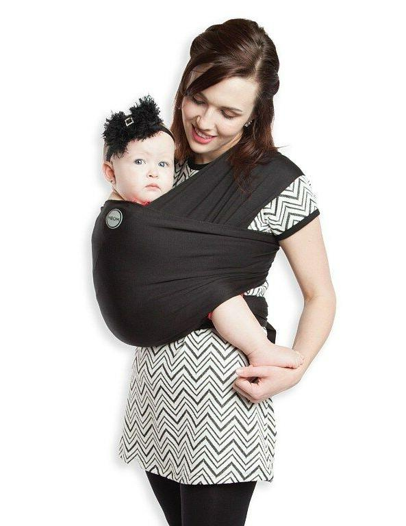 Moby Wrap Baby Carrier for Newborns + Toddlers Soft Baby Sli
