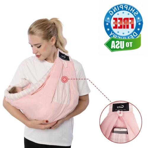 Baby Carrier Natural Pink