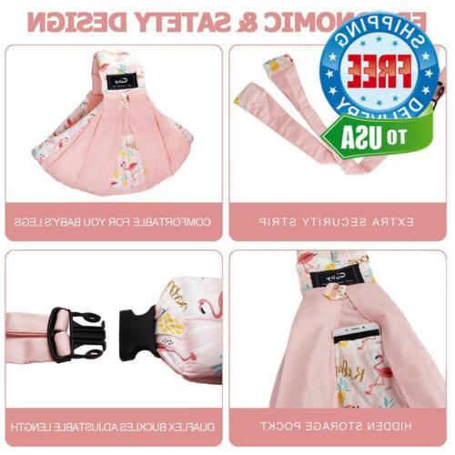 Natural Cotton Sling Pink Flamingo
