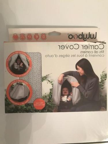 baby carrier cover car seat cover gray