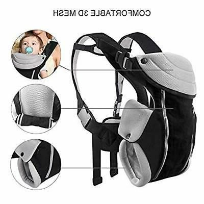 Baby Carrier Newborn to , Breathable Soft