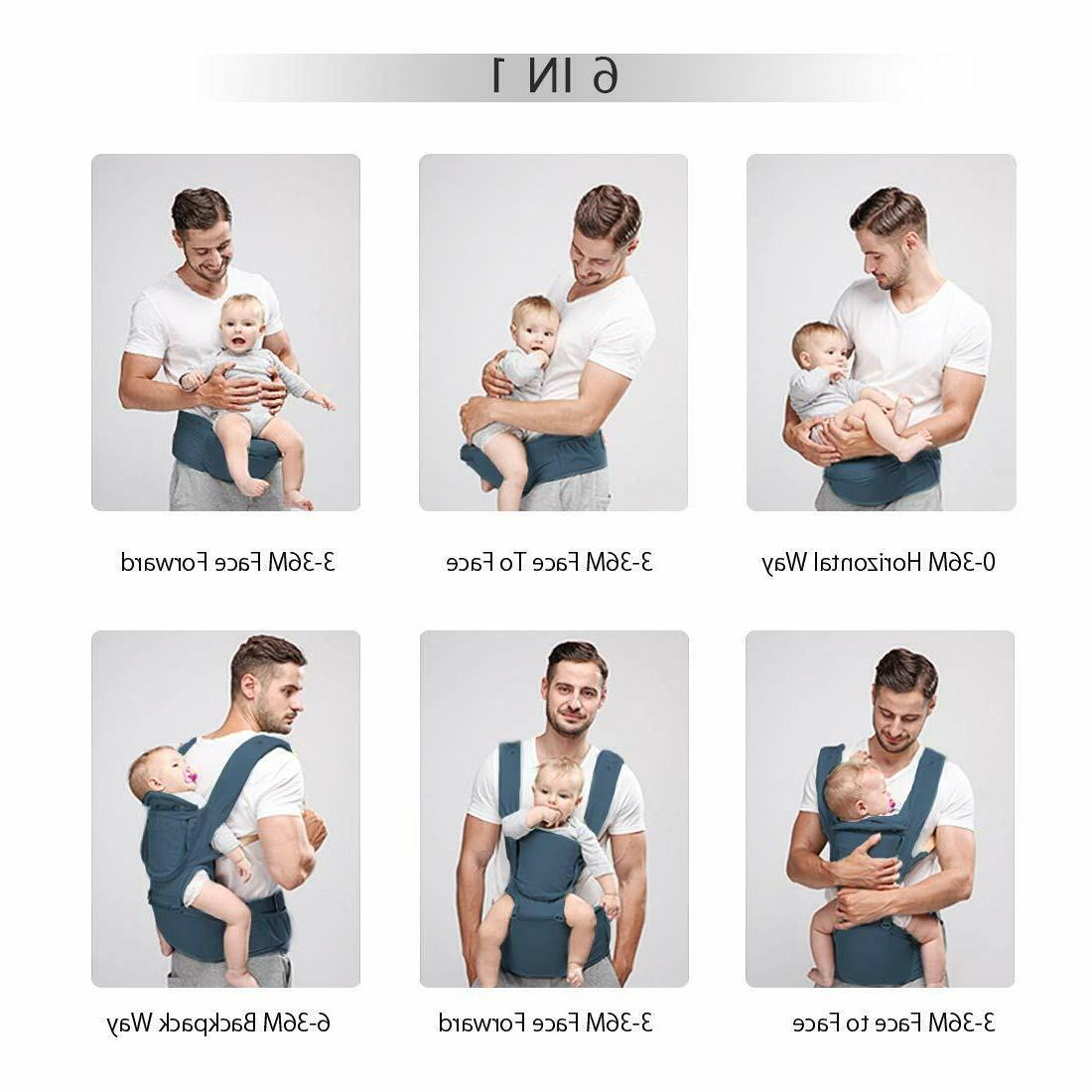 Baby Carrier Hip 360 Ergonomic Hipseat