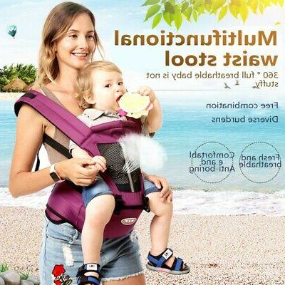 Baby Hip Seat Carrier Kid Toddler Waist Stool Hold Wrap Newb