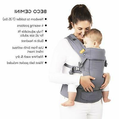 Baby Black Multi-Position Structured