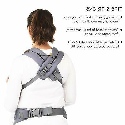 Baby Carrier - Black Multi-Position Soft