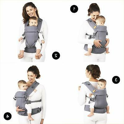 Baby Black - Multi-Position Structured Sling