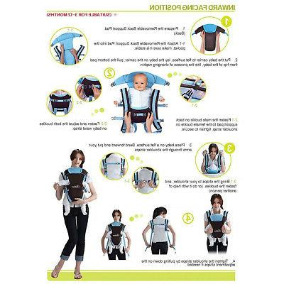 Baby Carrier Breathable Adjustable Newborn