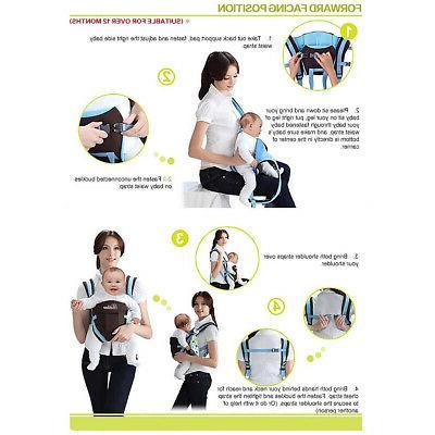 Baby Toddler Backpack Breathable Infant Newborn