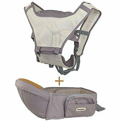 baby carrier with hip seat 6 in