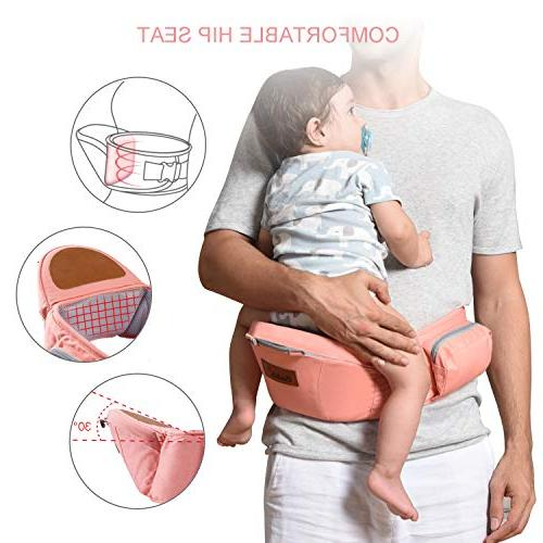 Bable Hip Seat, Ergonomic Baby and Padded Baby All Seasons