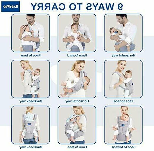 BabyPro Carrier Hip Positions