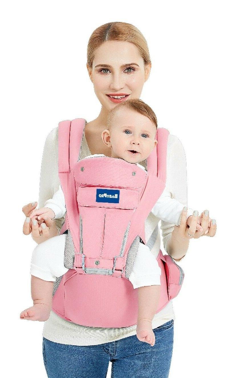 Baby Carrier Hip Seat Safe Positions &