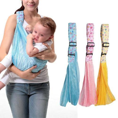 baby infant newborn adjustable carrier sling wrap
