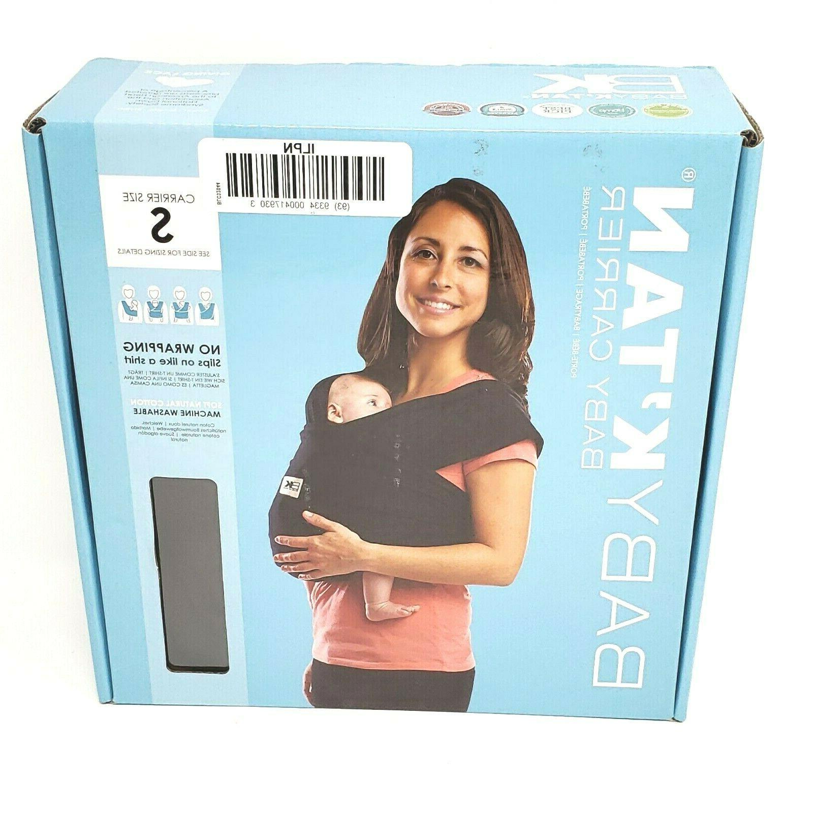 baby k tan baby carrier small soft