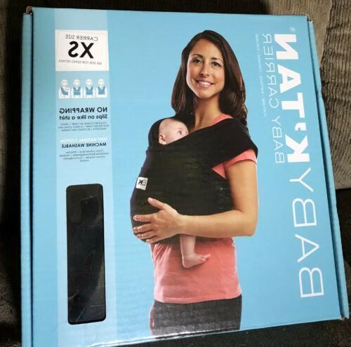 baby k tan original baby carrier black