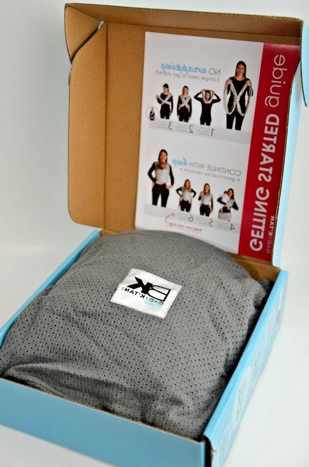 baby ktan breeze baby carrier breathable cotton