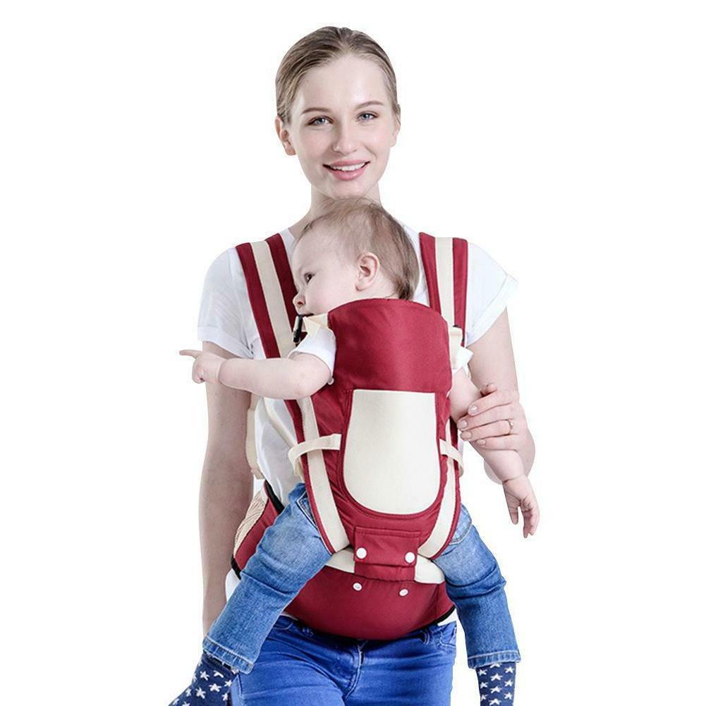 Adjustable Newborn Infant Carrier Breathable Ergonomic Sling